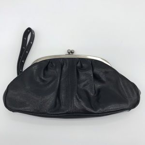 Kenneth Cole Reaction Leather Wristlet Clutch
